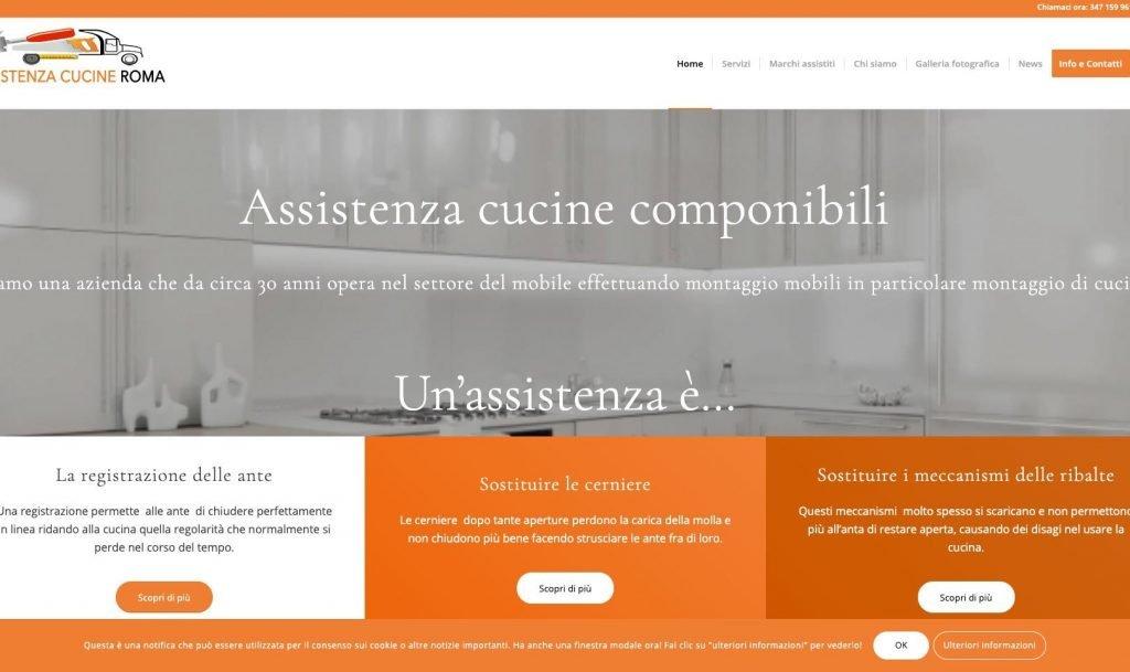 Assistenza cucine Roma