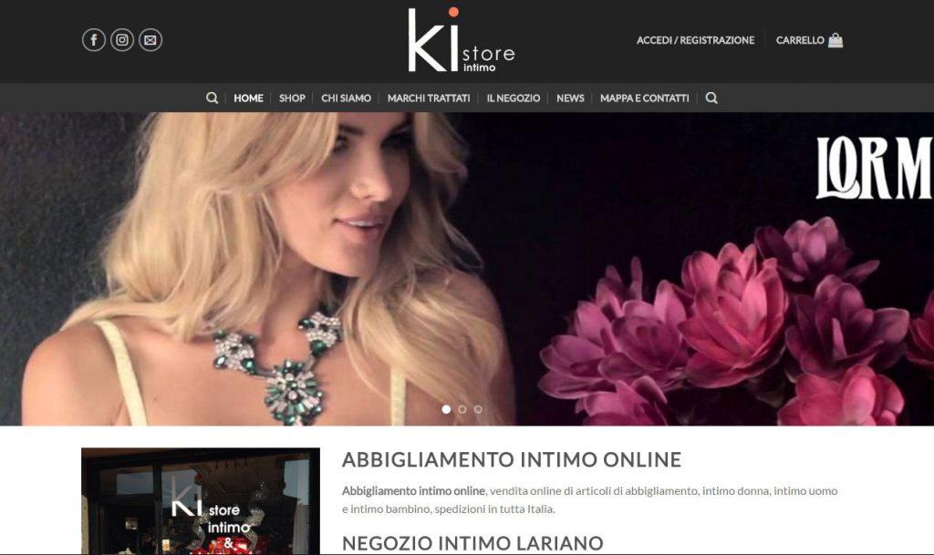 Abbigliamento intimo online